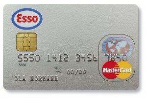 Esso kort, Mastercard