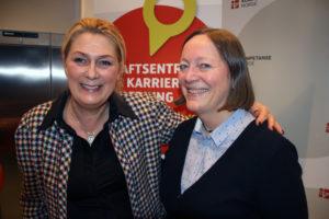 Gina Lund, direktør for Kompetanse Norge og Bente Søgaard, seniorrådgiver i YS