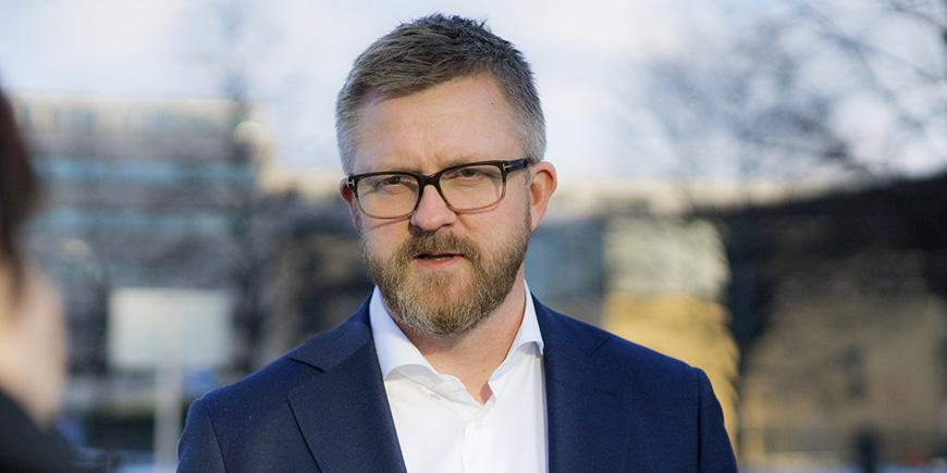 Hans-Erik Skjæggerud, 1. nestleder i YS. Arkivfoto: YS