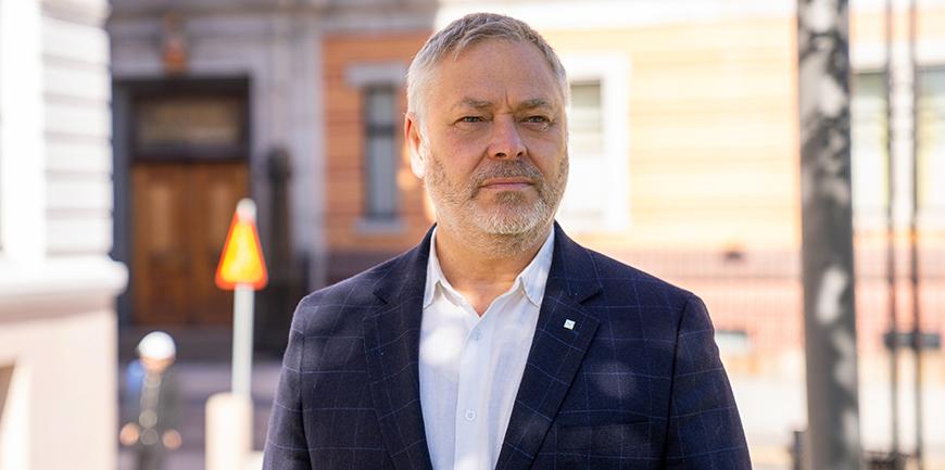 YS-leder Erik Kollerud