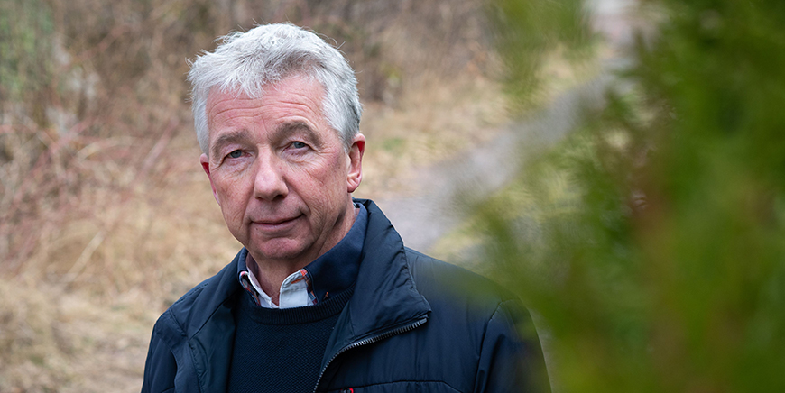 Portrett av YS Stats leder, Pål N. Arnesen.