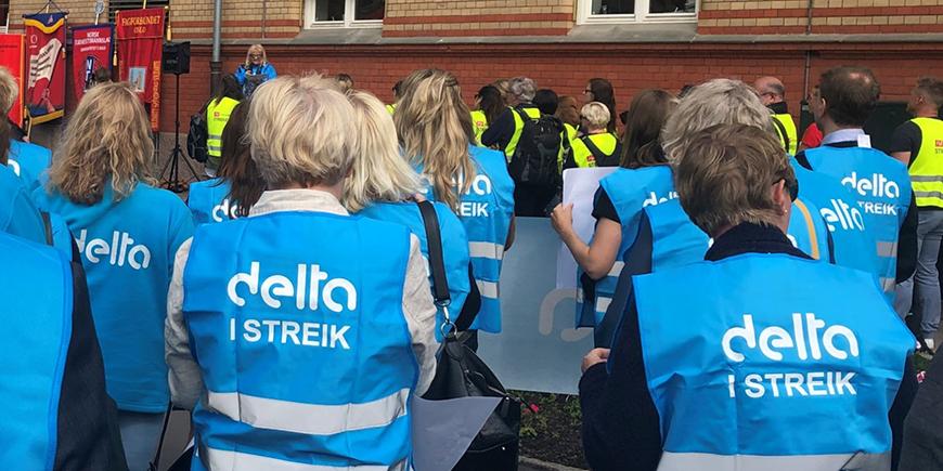 Hvis partene ikke blir enige innen meklingsfristen kan det blir streik fra 15. oktober. Arkivfoto: Delta